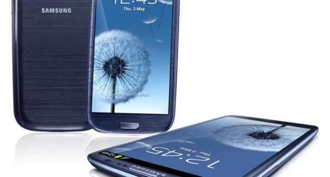 Samsung Galaxy S III Android smartphone