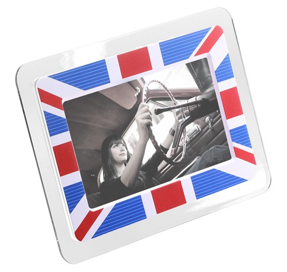 Kitvision 7in Digital Photo Frame - Union Jack