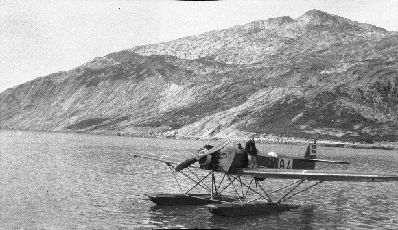 Danish explorers in Greenland in 1932. Credit: National Survey and Cadastre of Denmark