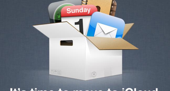 Apple iCloud prompt