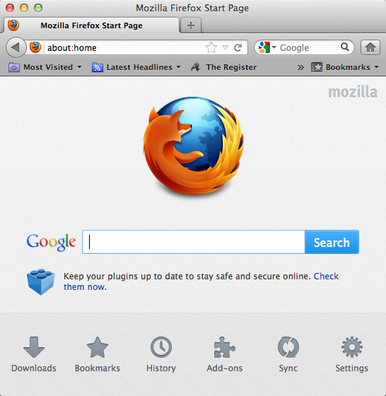 Firefox 13 now available for download • The Register