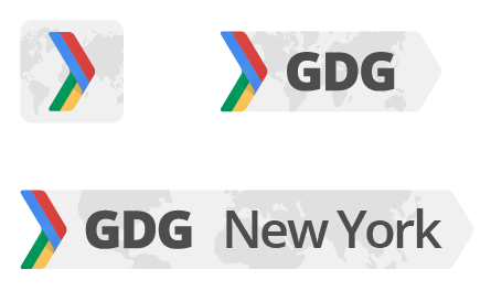 The new small logo for google developer groups