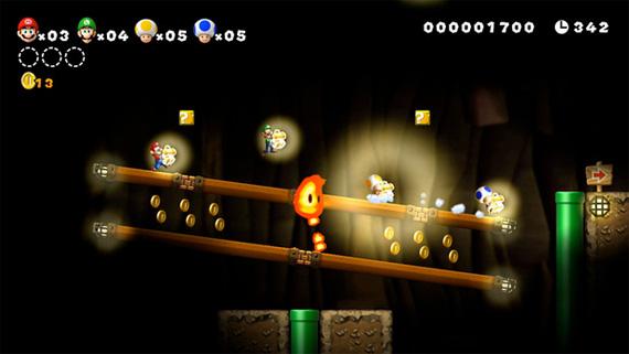 Super Mario Brothers U