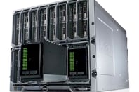Dell EqualLogic blade array in the M1000e chassis