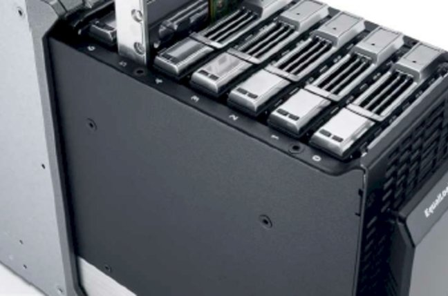 Dell EquaLogic blade array internals