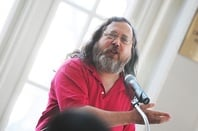 Richard Stallman, credit: Victor Powell