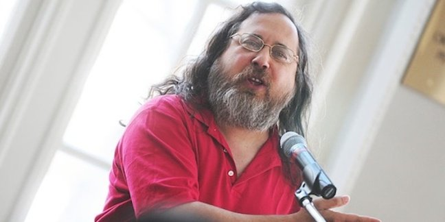Richard Stallman, credit: Victor Powell
