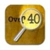 Over 40 Magnifier iOS app icon