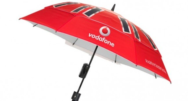 Vodafone UK booster brolly
