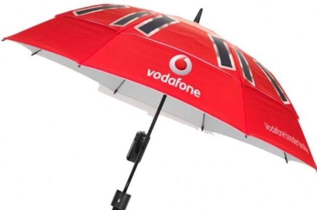 Vodafone UK booster brolly