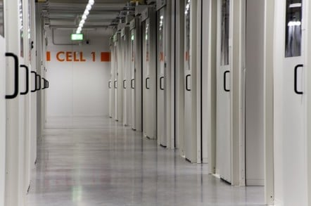 Cell 1 of HP's Aurora Data Center