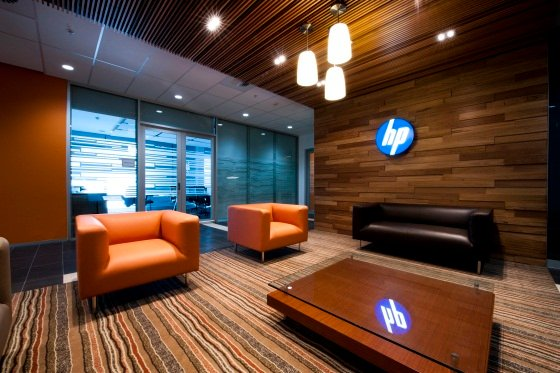 The not-to-be-photographed lobby of HP's Sydney data centre, Aurora