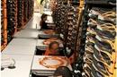 LLNL's Sequoia BlueGene/Q super being assembled by IBM