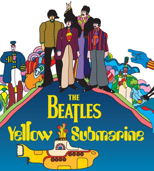 The Beatles Yellow Submarine Blu-ray disc