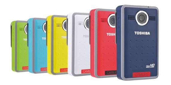 Toshiba Camileo Clip PA3997E camcorder