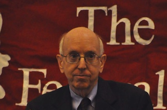 Judge Richard Posner at Harvard University in 2009