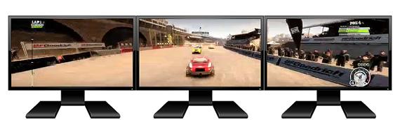AMD Eyefinity multi-monitor configuration