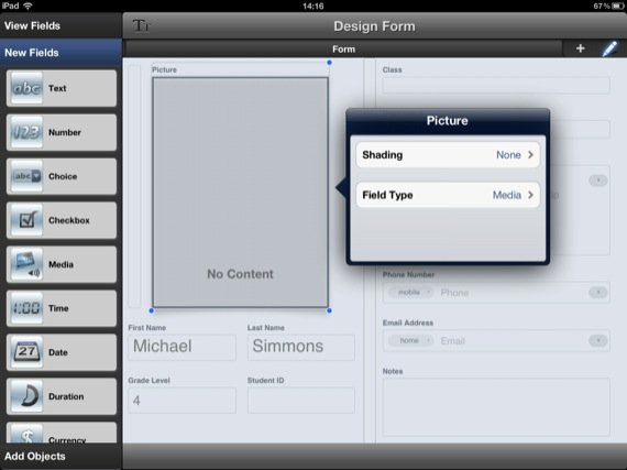 Bento 4 iPad app screenshot
