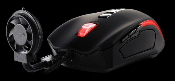 Thermaltake Black Element Cyclone Gaming Mouse
