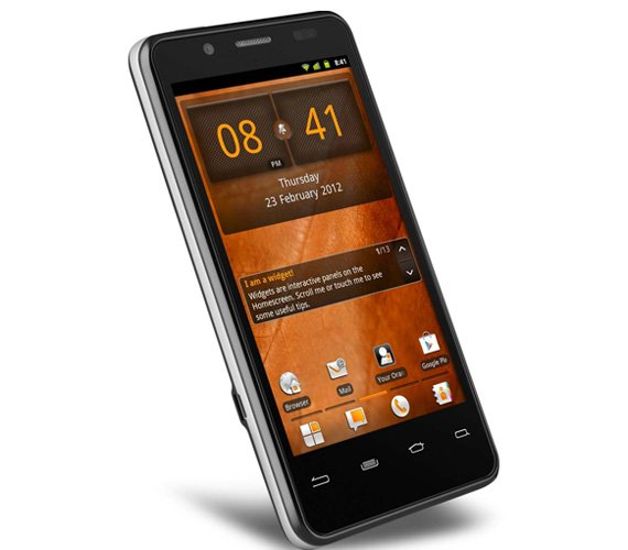 Orange San Diego Intel CPU Android smartphone