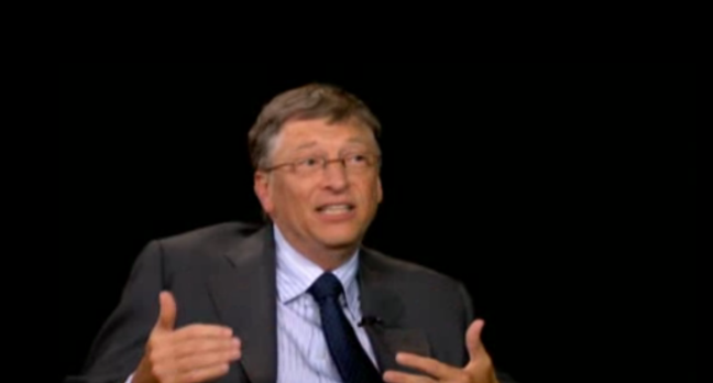 Bill Gates, screengrab PBS TV