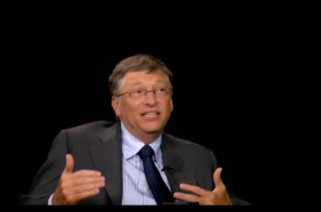 Bill Gates, screengrab PBS TV