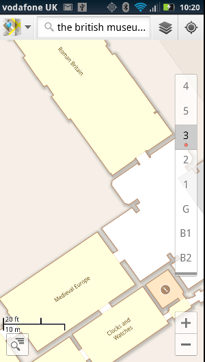 The British Library mapped