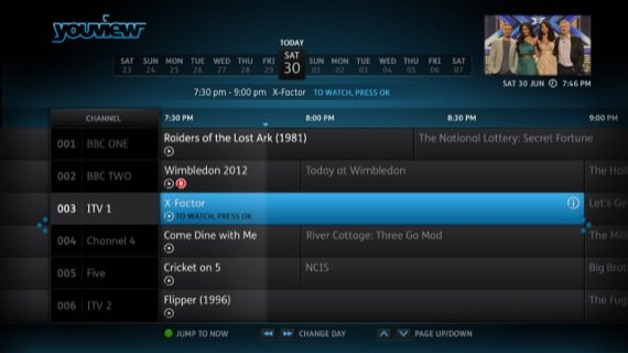 YouView UI