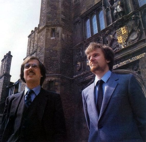 Steve Vickers and Richard Altwasser in 1982
