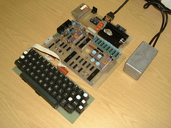 Pippin, the caseless Dragon 16 prototype. Source: DragonData.co.uk