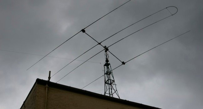 HF Aerial, at the National Radio Centre, credit The Register