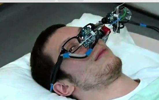 3D eye control tech developed at Imperial College, credit video screengrab
