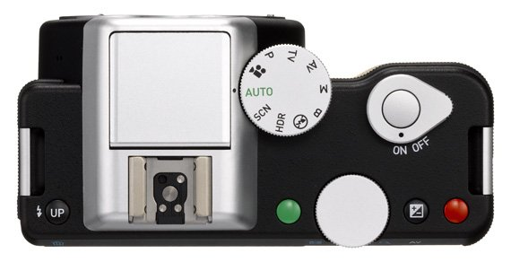 Pentax K-01 mirrorless camera