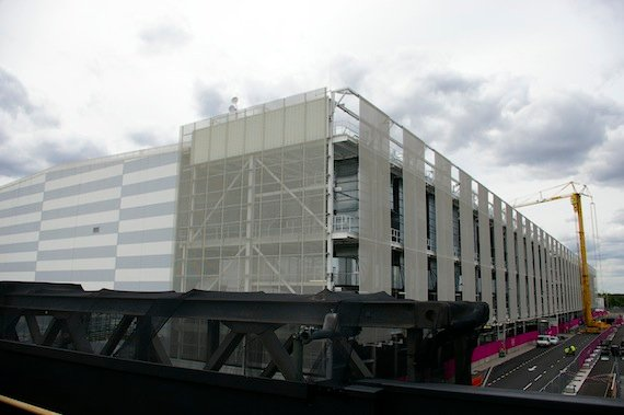 The Olympic Site International Broadcast Centre, credit The Register