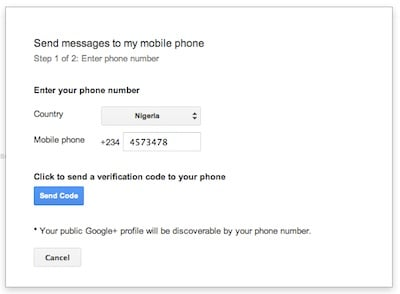 how to send sms from gmail to mobile number