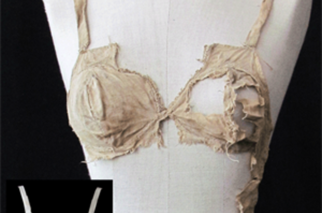 The Lengberg compared with a 1950's longline bra. Pic: University of Innsbruck