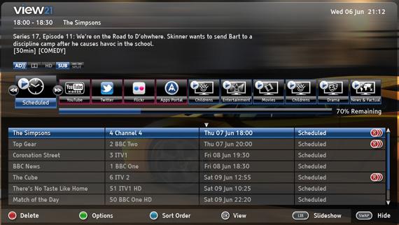 View21 Smart HD Digital TV Recorder