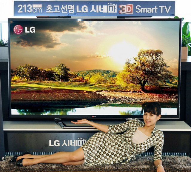LG 84in LCD UD TV