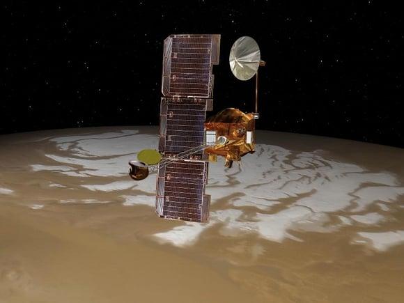 NASA's Mars orbiter Odyssey
