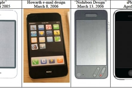 Apple phone design pre-2005
