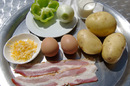 Everything you'll need to make Bauernfrühstück