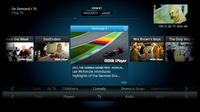 Humax YouView DTR-T1000 IPTV Freeview DVR