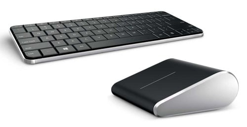 Photo of Microsoft's Wedge Mobile Keyboard and Wedge Touch Mouse
