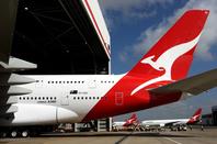Qantas A380 tail