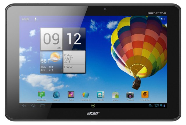 Acer Iconia Tab A510 10in Android tablet