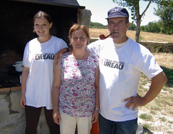 Our Deathmatch team Cristina Moreno Rubio, Maria Jesus Rubio Hernandez and Angel Moreno