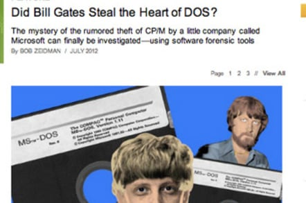 Bill Gates, Harry Evans and the smearing of a computer