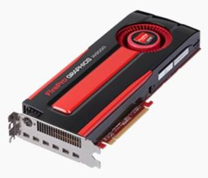 AMD FirePro W9000 and W8000 discrete GPUs