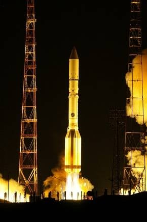 Proton-M blasts off with Telkom-3 and Express MD2 onboard