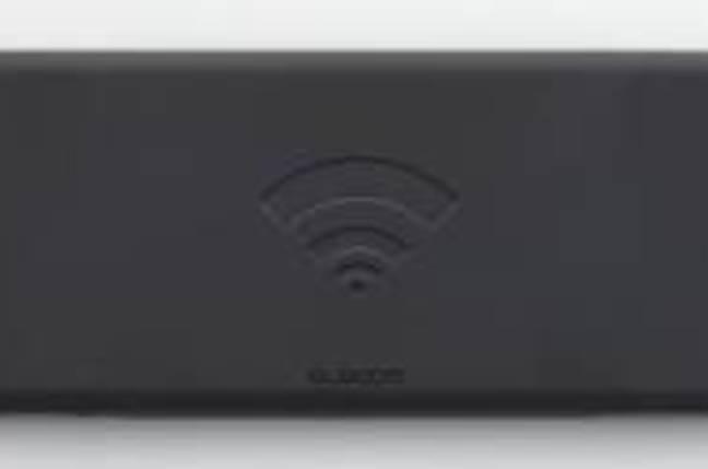 Elecom's NFC keyboard